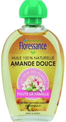 astuce beauté huile d'amande douce