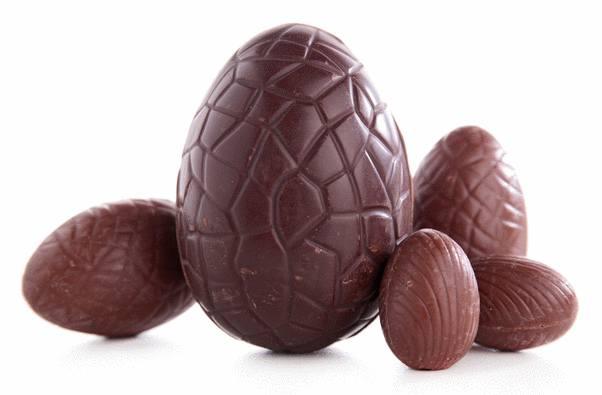 oeuf au chocolat de paques