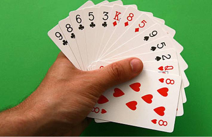 Nettoyer les cartes à jouer