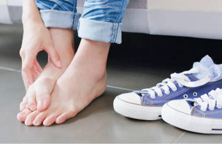 Infection entre les orteils