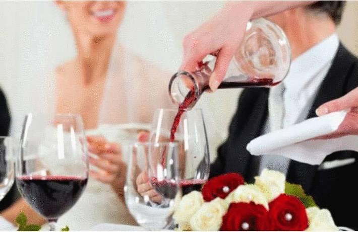 Servir le vin