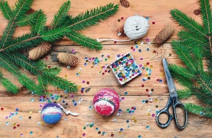 Ranger couture, ouvrages et décorations de Noel