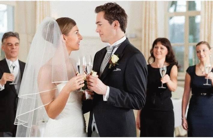 Recevoir lors d'un mariage