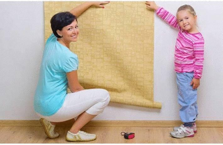 Nettoyage du papier peint