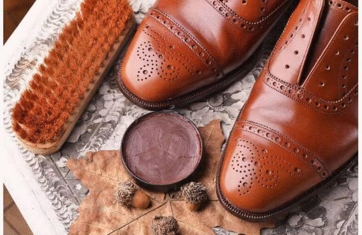 Entretien des chaussures