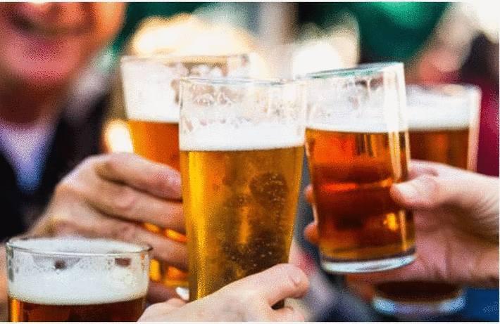 Tache d'alcool ou de bière