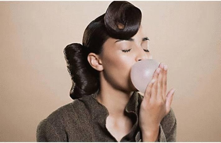 Tache de chewing gum