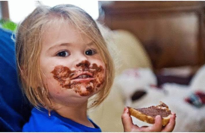 Tache de chocolat