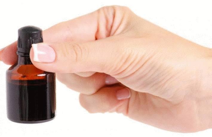 Tache de mercurochrome ou d'éosine