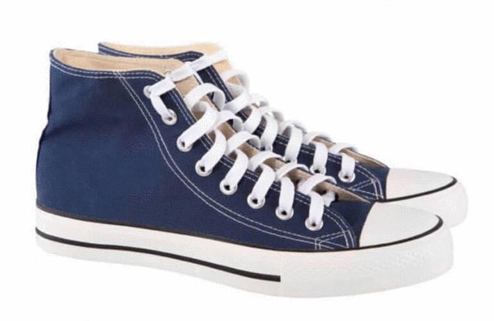 Nettoyer chaussures en toile beige - Nettoyer chaussure blanche cuir ...