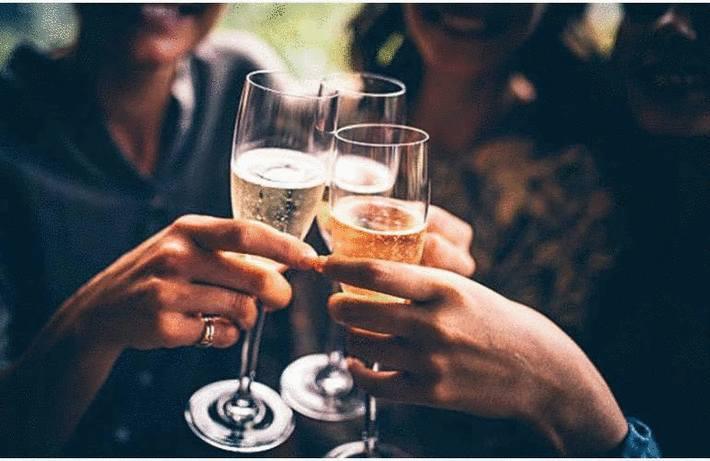 Tache de champagne