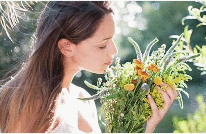 Enlever une tache de fleur