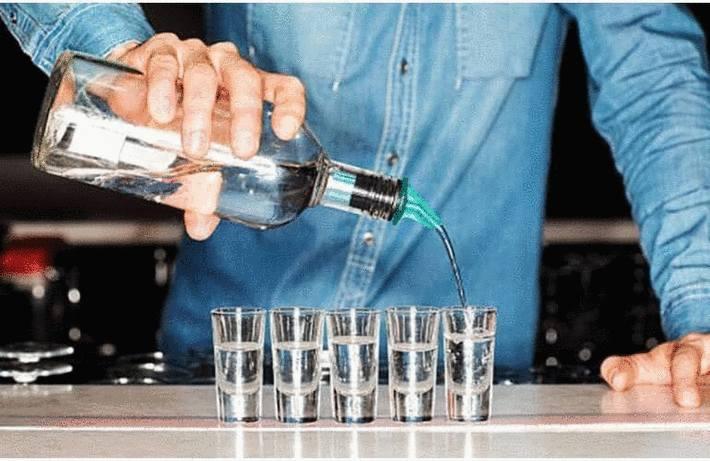 Tache de vodka