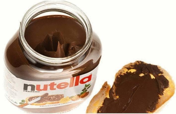 Tache de Nutella