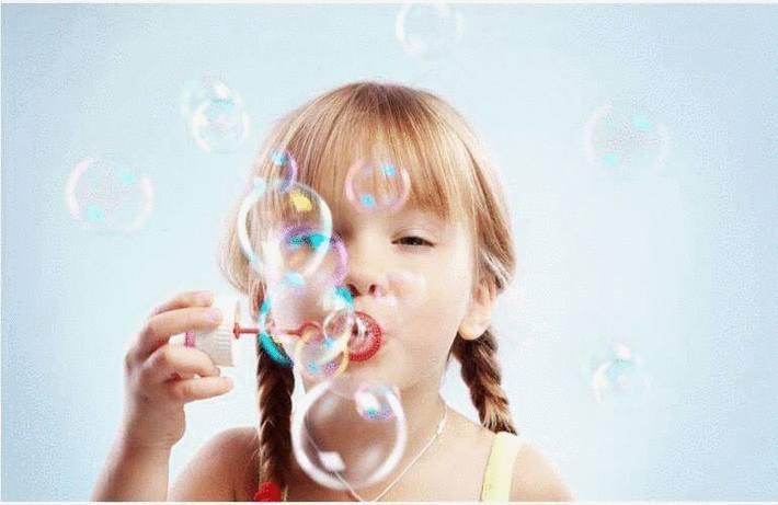 Enlever une tache de bulle de savon