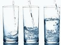 3 verres d'eau