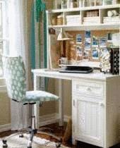 Travaller chez soi am nager un coin bureau tout pratique - Amenager un bureau dans une chambre ...