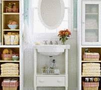 Am nager une petite salle de bain tout pratique - Petit rangement salle de bain ...