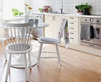 Organiser un coin repas dans la cuisine tout pratique for Table coin cuisine