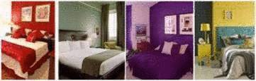 4 chambres trs colores - Idees Couleur Chambre