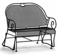 Nettoyer un meuble en fer forg tout pratique - Nettoyer la semelle d un fer ...