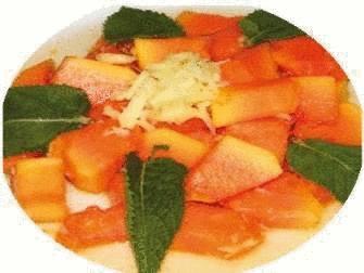 recette papaye