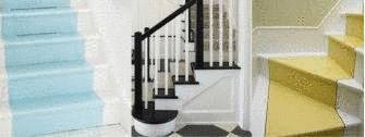 decoration escalier interieur peinture. Black Bedroom Furniture Sets. Home Design Ideas