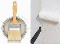 peindre une porte tout pratique
