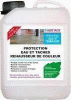protection eau et taches rehausseur de couleur