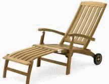 Enlever une tache sur le teck tout pratique for Chaise longue bois exotique