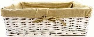 Nettoyer la vannerie tout pratique - Comment decorer une corbeille en osier ...