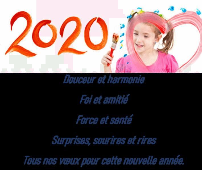 carte de voeux 2020 gratuite