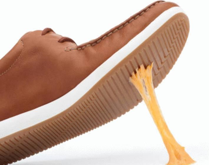 comment enlever du chewing gum sur sa chaussure