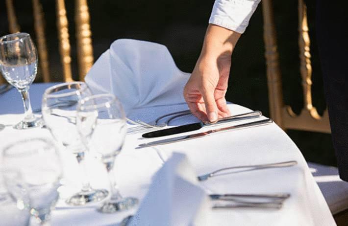 comment bien mettre la table