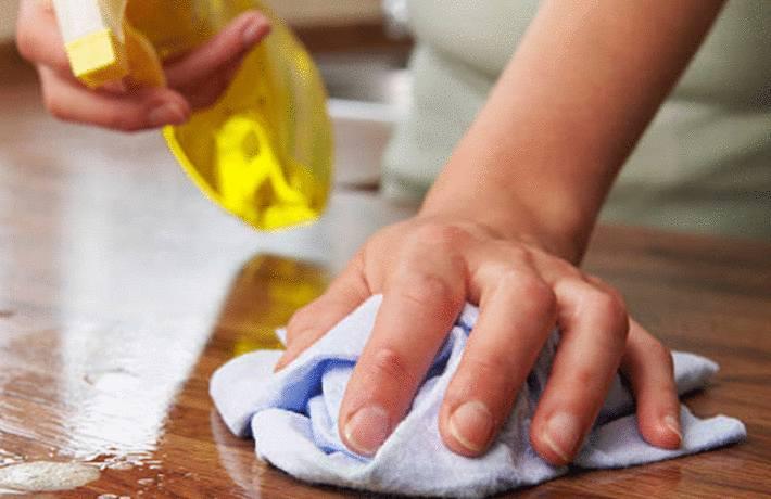 comment nettoyer et entretenir plan de travail en bois