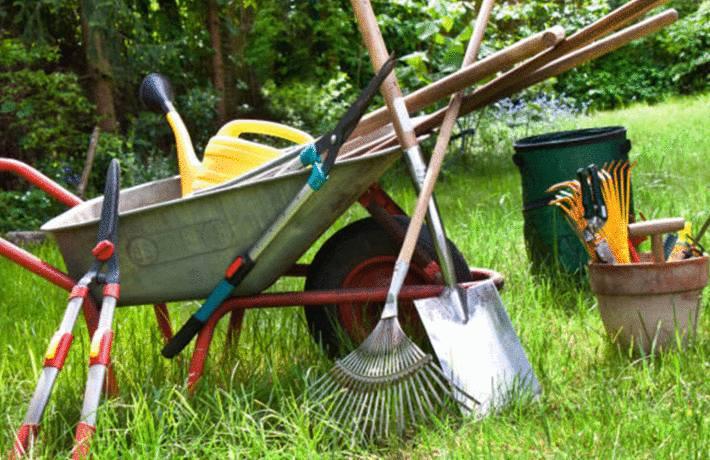 comment nettoyer et entretenir les outils de jardin