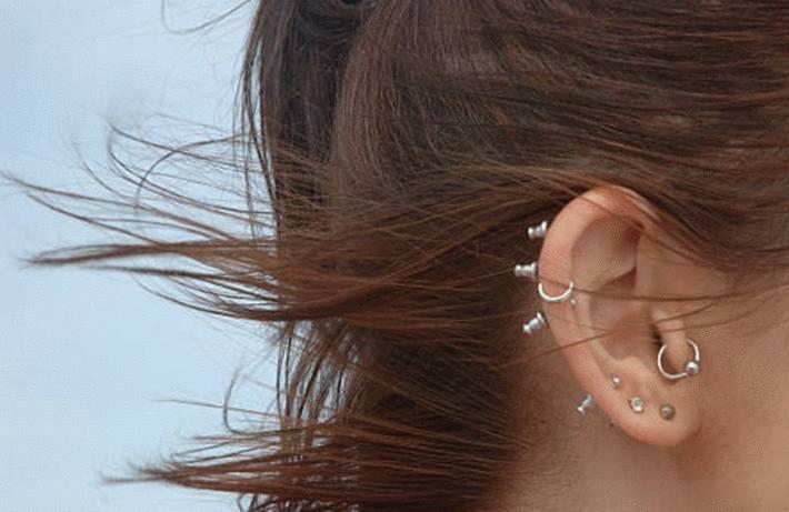 comment soigner les oreilles percées