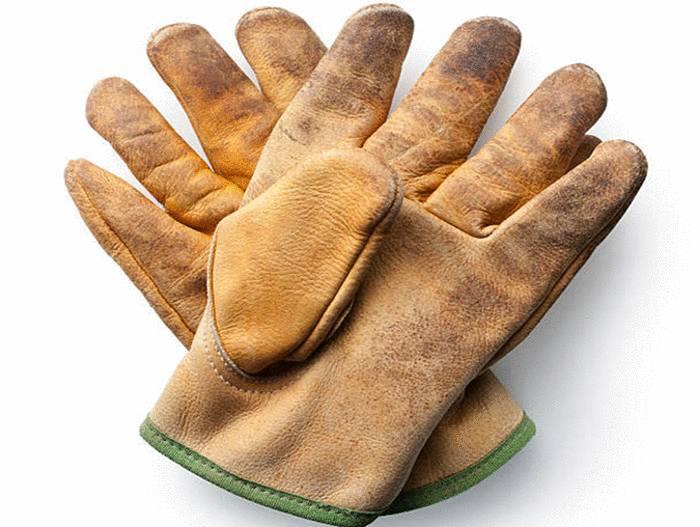 avec quoi nettoyer des gants très sales