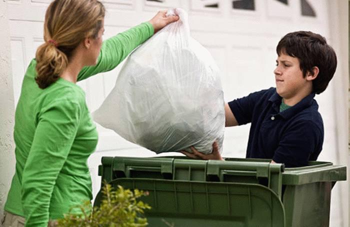 quoi jeter dans quelle poubelle