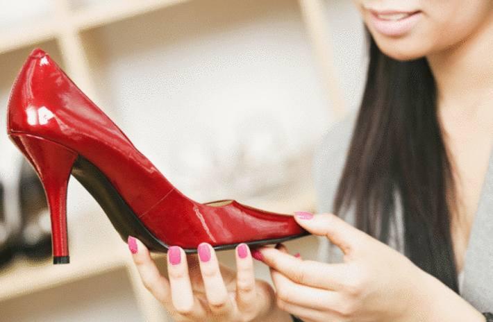 comment nettoyer chaussures en cuir verni