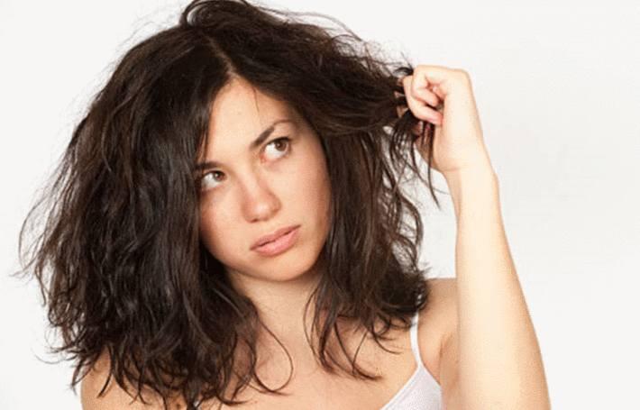 comment traiter naturellement cheveux secs