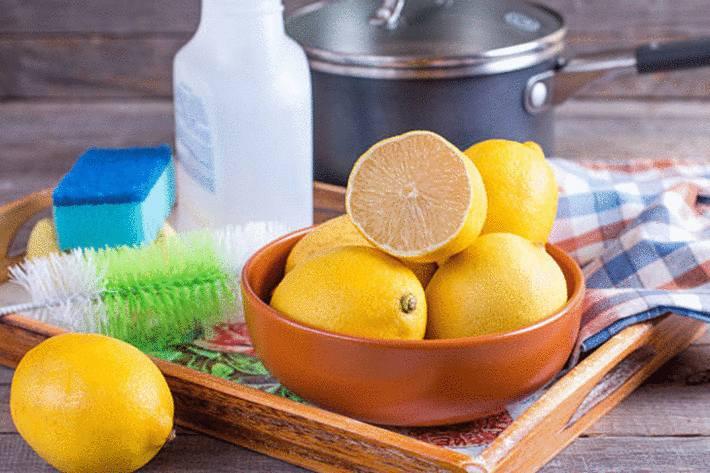 citron pour tout nettoyer dans la maison