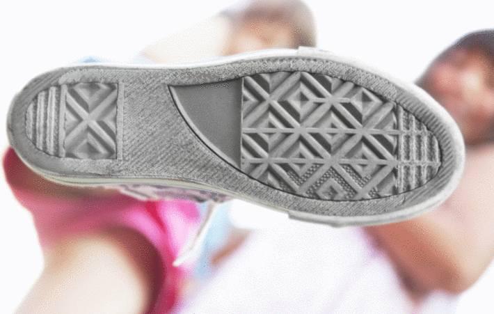 comment nettoyer la semelle blanche de ses chaussures. Black Bedroom Furniture Sets. Home Design Ideas