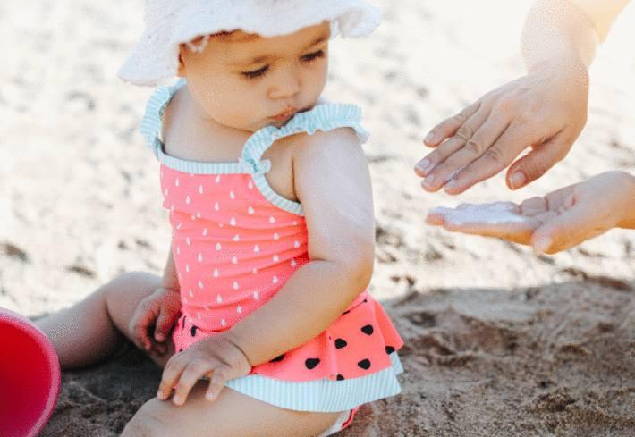 quelle crème solaire pour un enfant