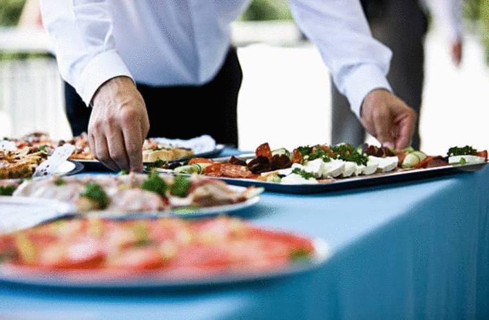 comment faire un repas buffet à la maison