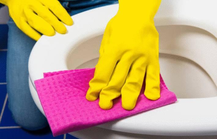quel produit pour nettoyer lunette wc