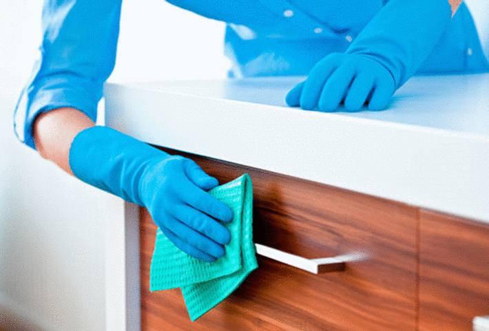 nettoyer meuble cuisine
