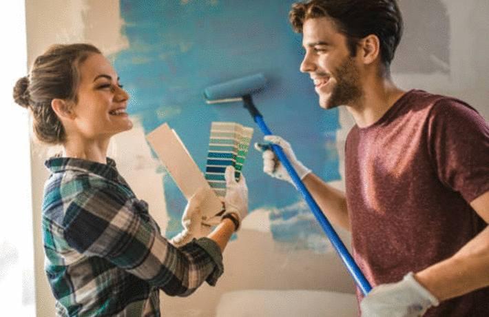comment peindre un mur en 4 étapes