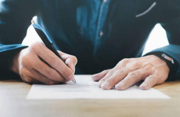 quand écrire à la main