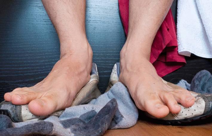 transpiration des pieds